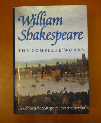 WILLIAM SHAKESPEARE The Complete Works Barnes & Noble 1994 HC DJ