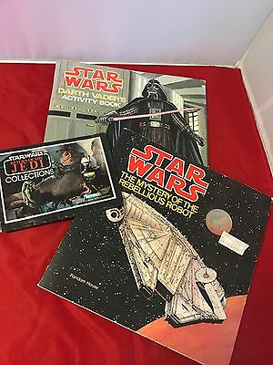 Set Of 2 Vintage Star Wars Books Random House 1979 Activity Book Very Cool