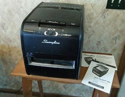 Swingline Stack and Shred 60X Hands Free Shredder 1757572