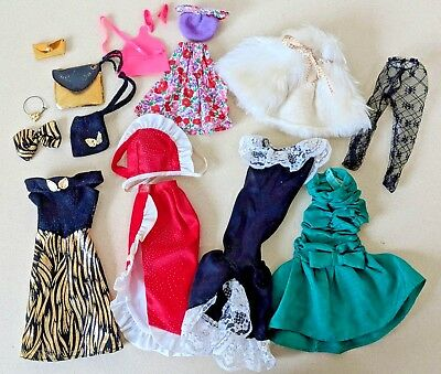 Vintage Barbie 80's style outfits
