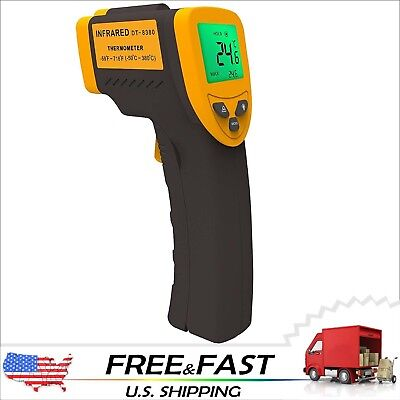 Temperature Gun Non-Contact Digital Laser Infrared IR Thermometer FDA Lasergrip