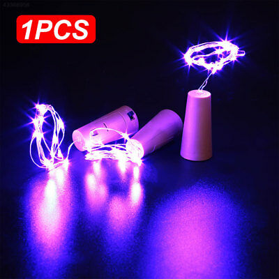 Copper Wire Wine Bottle Cork Battery Operated Fairy String Lights 2M 20LED AU