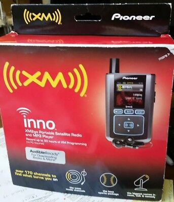 XM2GO Portable Satellite Radio and Mp3 Player