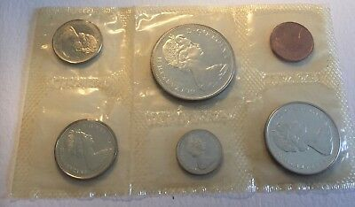 1965 Canada 6 Coin Proof Like Set Original Mint Issue Packaging UNCIRCULATED