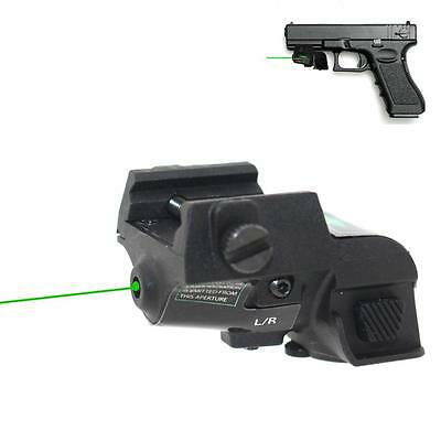 Tactical Micro Green Dot Laser Scope Sight Rechargeable Subcompact Pistol