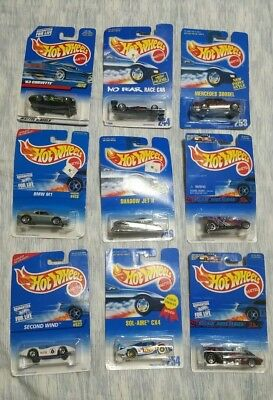 Hot Wheels Lot Of 9 NEW NO RESERVE Mattel   1990's Lot LOOK AT .99 CENT START