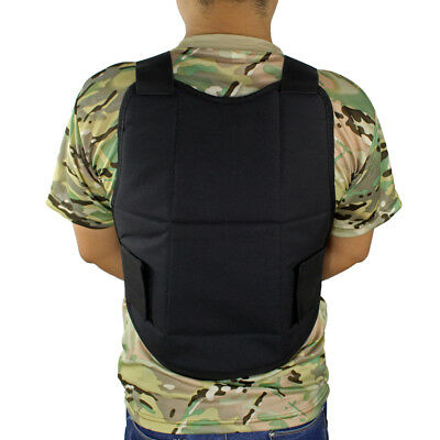 Double Protection Soft Clothes Tactical Vest Body Armor Chest Protector Padded