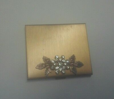 Vintage Antique Jeweled Compact with Mirror from the 1940's-1950's