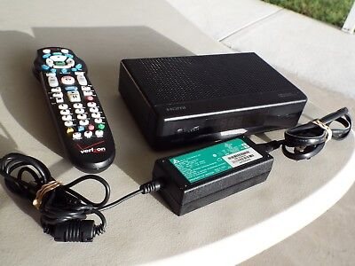 VERIZON ARRIS SET Top Box IPC1100P2 with Remote And Power Cord