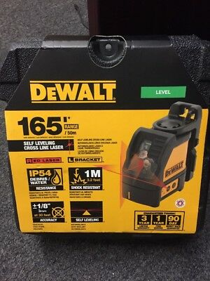 DeWalt DW088K Self Leveling Horizontal/Vertical Cross Line Laser Level - NEW !!!