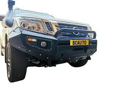 Front Bumper Bar Bull bar for Nissan Navara D23 NP300 15-18 Black Steel