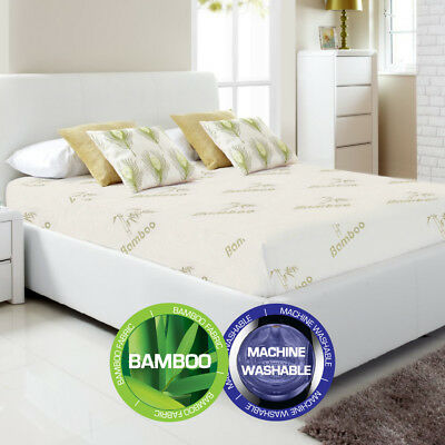 Bamboo Fully Fitted Mattress Protector(Cot/Single/KS/Double/Queen/King/Super K)
