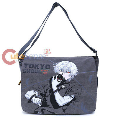 Tokyo Ghoul Ken Messenger Bag Anime Laptop Carry Shoulder Cross Bag Canvas
