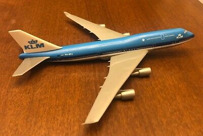 "KLM Boeing 747-400 Flying Dutchman Model PHBFJ Royal Dutch Airlines 11"" 1:200"