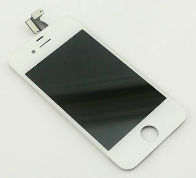 Apple TOUCH SCREEN DIGITIZER WHITE GLASS IPH4SW-GSM-SCREEN