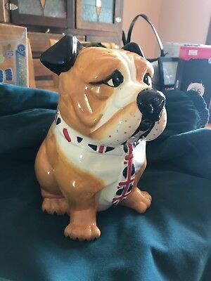 The British Bulldog Cookie Jar Ontrack Pty Ltd 2013 – Novelty Biscuit Barrel