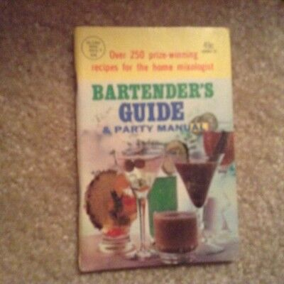 Bartender's Guide & Party Manual - Globe Mini Mag #306