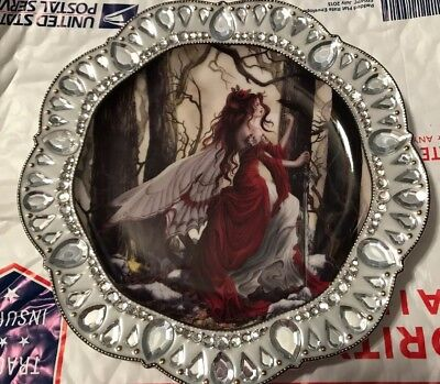 Nene Thomas Collector Plate Crystal Enchantment Fantasy Bradford Exchange