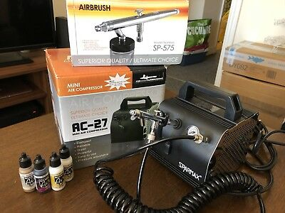 Sparmax airbrush and compressor