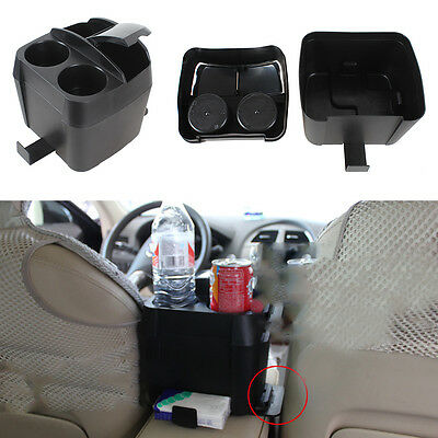 Car Vehicle Beverage Bottle Can Tissue Drink Cup Holder Stand Clip Accessorie UK