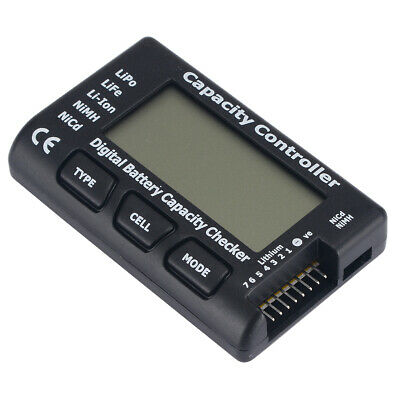 7 Battery Capacity Voltage Checker Tester Cell Meter For LiPo LiFe Li-ion NiMH