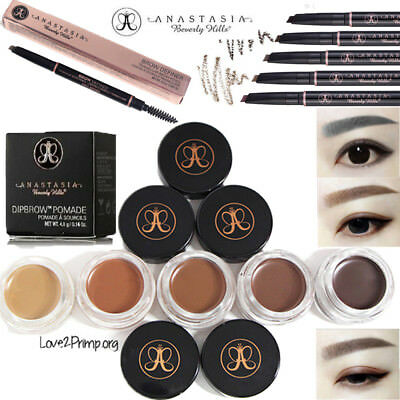 Anastasia Beverly Hills Face Eyebrow Pencil Dark Dyed Cream Ebony Soft Brown