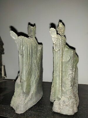 Hobbit The Lord of the Rings The Gates of Gondor Argonath Pair Resin