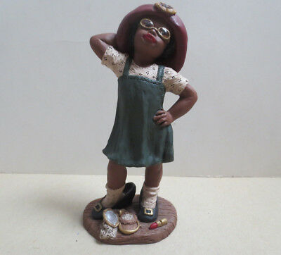 Gina- Resin Figurine by Holcombe-God is Love- 1994