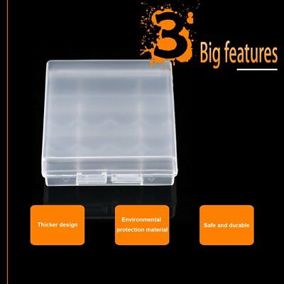 Transparent LEISE Battery Storage Case Holder Storage Battery Box For AA/AAA suu