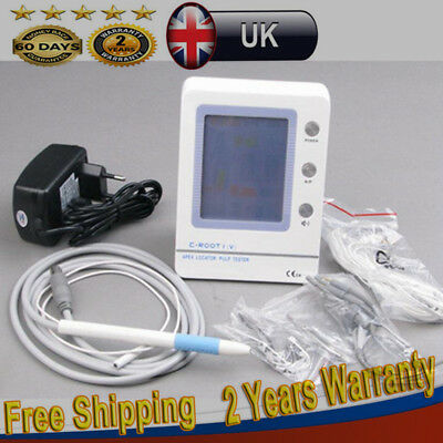 Dental Endodontic LCD Root Canal Apex Locator+Pulp Tester Oral Teeth Nerve Test