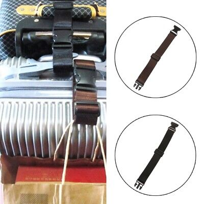 Adjustable Suitcase Bag Travel Luggage Straps Buckle Baggage Tie Down Belt Lock
