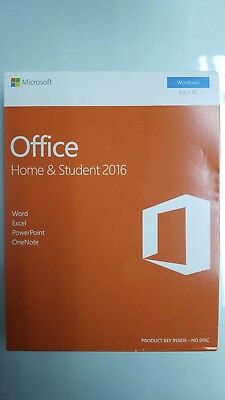 Microsoft Office Home & Student 2016 (License Only)- Full Version for PC...