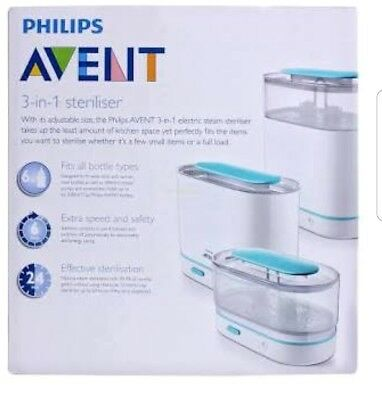 Philips Avent Sterilizer & Boon Grass Drying Rack
