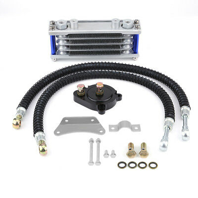 Engine Oil Cooler Cooling Radiator System Kit for Yamaha YS150 Motorcycle am