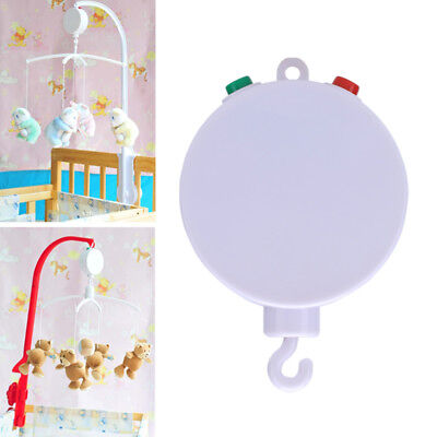 35 Song Rotary Baby Mobile Crib Bed Toy Clockwork Music Box Infant Hanging Bell
