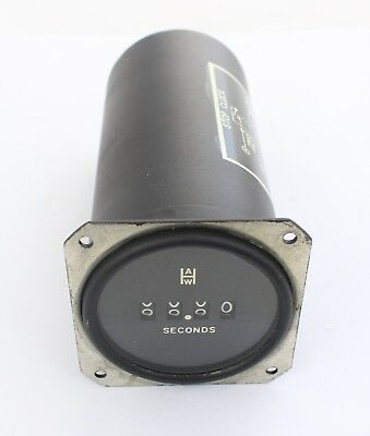 A.W.Haydon Stop Clock/Timer, Mortor Voltage 20-30VDC, Coil Voltage 20-30VDC