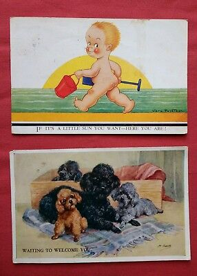 JOB LOT 31 +  MIXED Old Travel Post card cards vintage retro BULK COLLECTION VGC