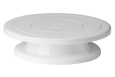 Premier Housewares Decorating Turntable Stand - White Cake stand
