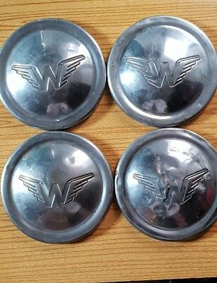 "Wolseley 9"" Hubcap Wheel Trim Chrome Original - Hub Cap"