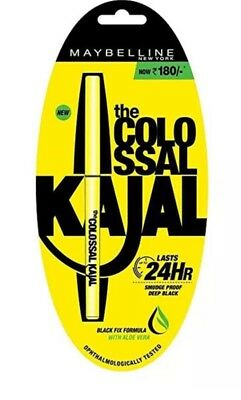 Maybelline The Colossal Kajal 0.35 gm 100% suitable For Eyes & 24h Smudge Proof