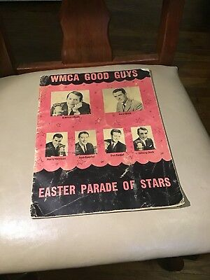 Wmca Good Guys Easter Parade Of Stars -  Used 1964 Program With Biographies