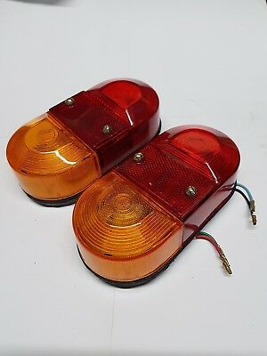 Britax 9020 4 Function Rear Stop/tail/ind Light Lamp Horse Box Ifor Williams