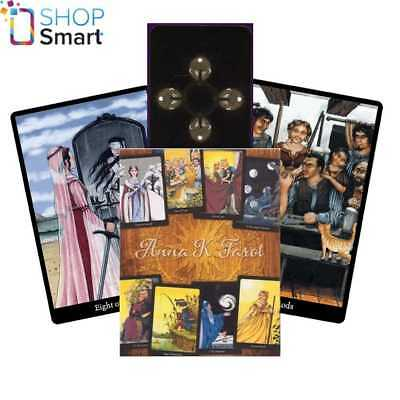 Anna K. Tarot Cards Deck Esoteric Telling By Anna K. Rider Waite Llewellyn New