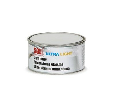 SOLL ULTRA LIGHT putty for car refinishing easy to be sanded 1 l