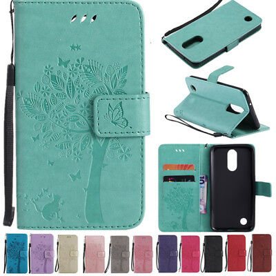 For LG K4 2017 /Phoenix 3 /Fortune/ Risio 2 Flip Leather Wallet Case