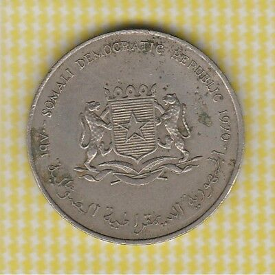 Crown Lot 3 Somalia 1970 5 Shillings Grow Food Free Post in Bubble Env Aust Only