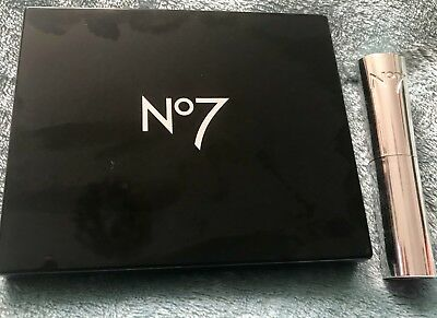 No 7 Nude To night Palette and Sheer Temptation Lipstick