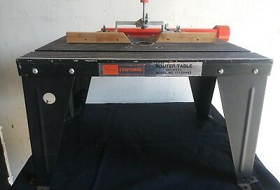 Remarkable Sears Craftsman Router Table 171 25443 Home Interior And Landscaping Oversignezvosmurscom