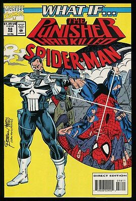 What If 58 The Punisher had killed Spider-Man Comic Amazing Spider-Man 129 Story