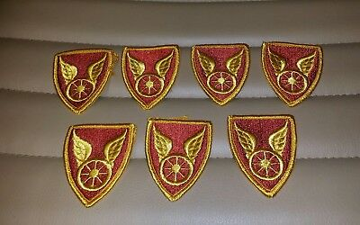 US ARMY 124th Transportation Brigade  Class A patch - Lot of 7